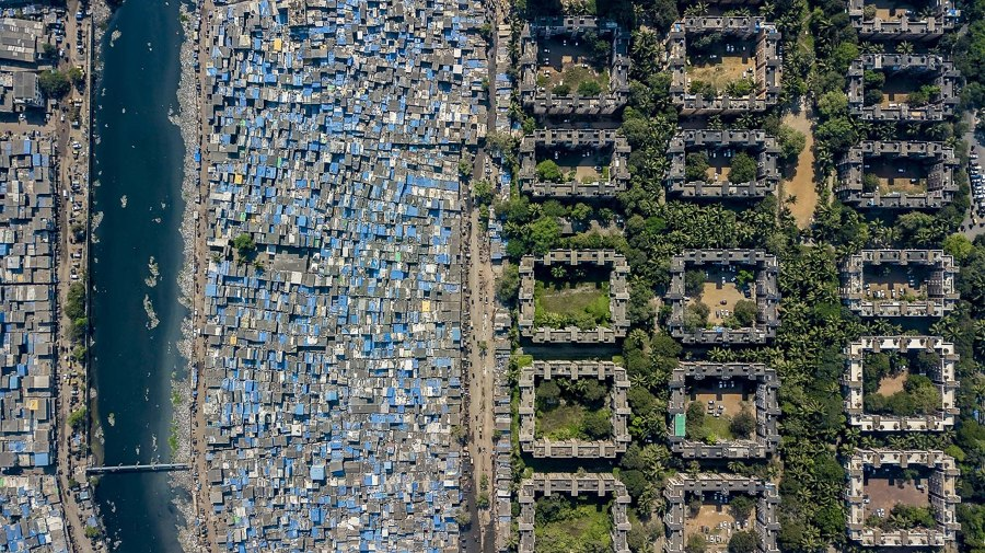 Social Inequality, As Seen From The Sky | News