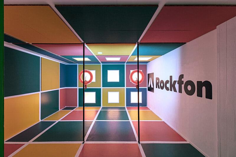 The colour of sound: Rockfon   News
