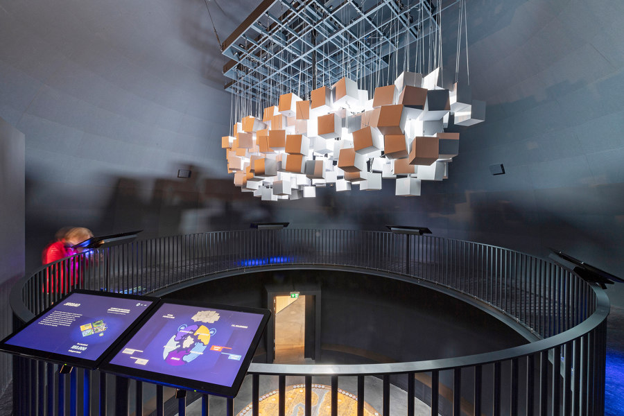 Rockfon: Optimal sound absorption in colours and shape   Architecture