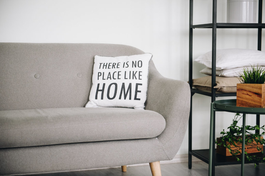 Let's stay home! | Design