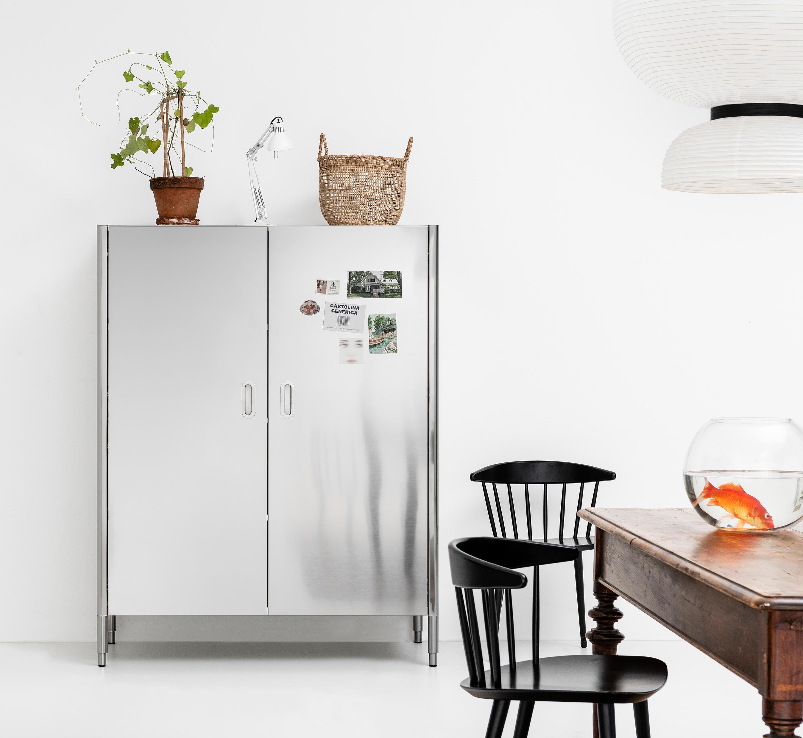 Colonna Dispensa Cucina Ikea stir it up: alpes-inox's liberi in cucina system