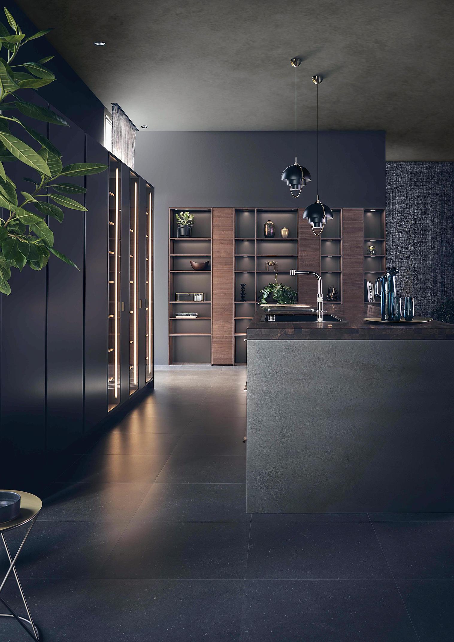 Leicht Kitchen: Kitchen Architecture: Leicht