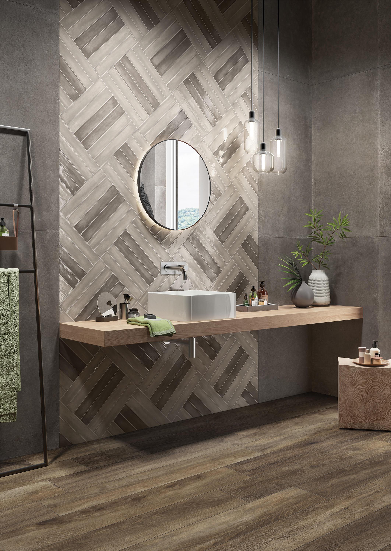 Rondine takes on minimal majolica tiles