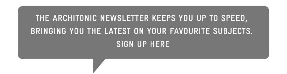The Architonic newsletter keeps you up to speed, bringing you the latest on your favourite subjects. Sign up here